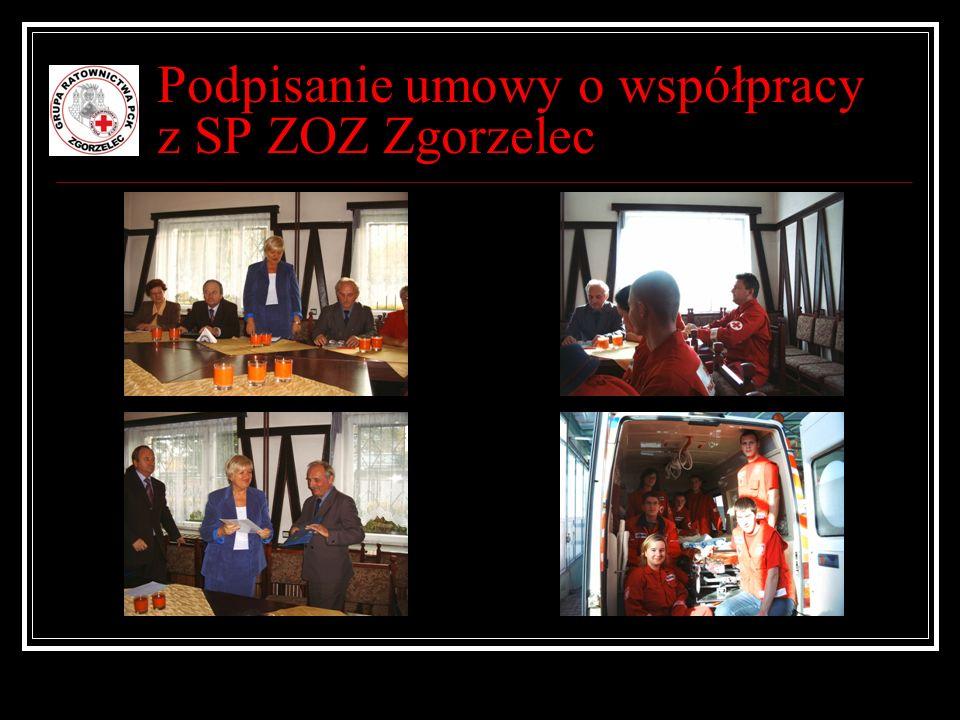 Podpisanie umowy o współpracy z SP ZOZ Zgorzelec