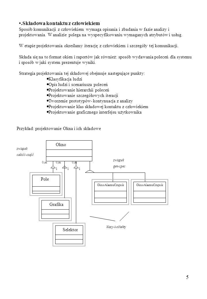 6.Projektowanie składowej zarządzania zadaniami.