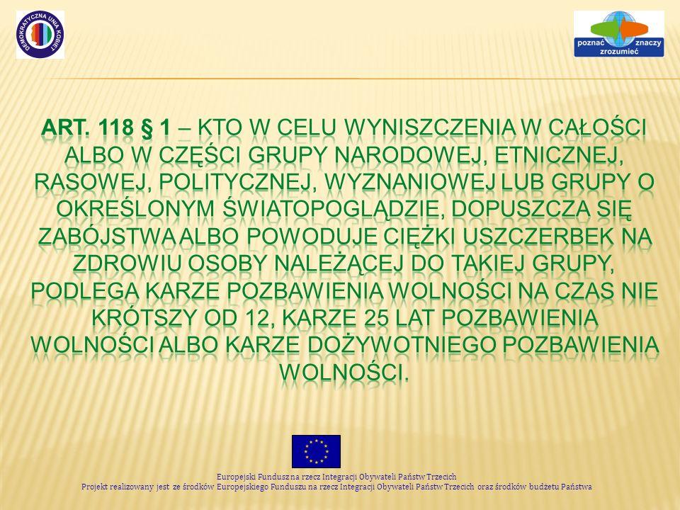Europejski Fundusz na rzecz Integracji Obywateli Państw Trzecich Projekt realizowany jest ze środków Europejskiego Funduszu na rzecz Integracji Obywat