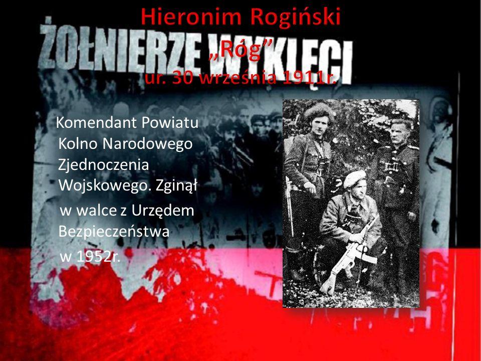 Komendant Powiatu Kolno Narodowego Zjednoczenia Wojskowego. Zginął w walce z Urzędem Bezpieczeństwa w 1952r.