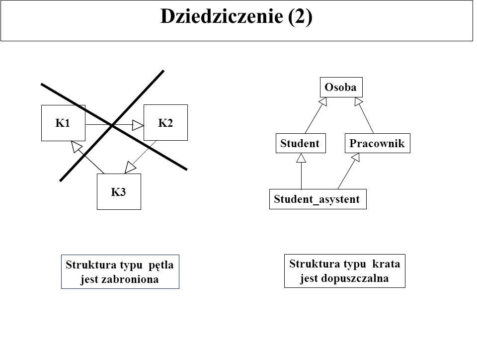 Typy masowe Kolekcje (termin ODMG-93 przyjęty dla określenia typów masowych): Ortogonalność konstruktorów typu: typy masowe mogą być dowolnie kombinowane, w tym również z typami indywidualnymi, np.