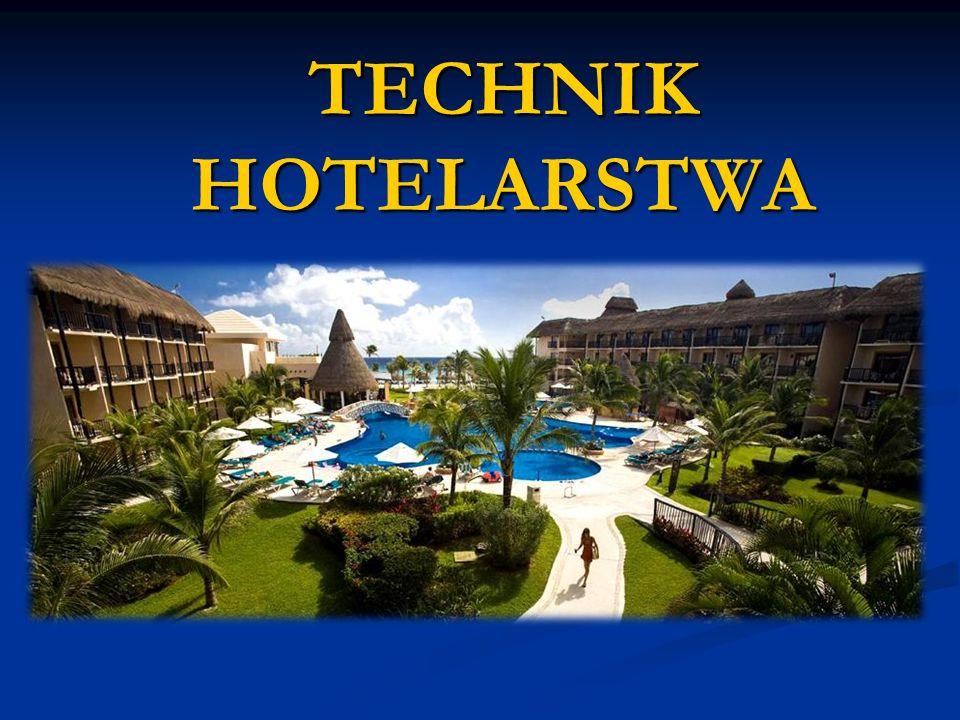 Technik hotelarstwa planuje, organizuje, oferuje, koordynuje oraz wykonuje usługi hotelarskie w obiekcie hotelarskim i innych obiektach, w których świadczone są usługi hotelarskie.