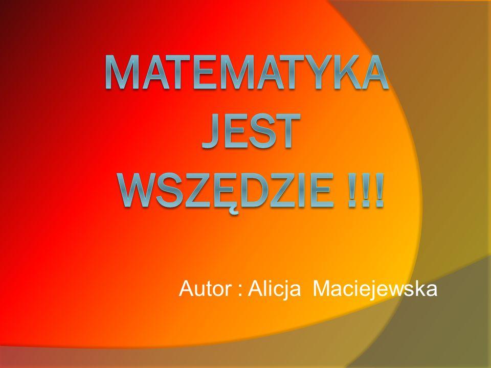 Autor : Alicja Maciejewska