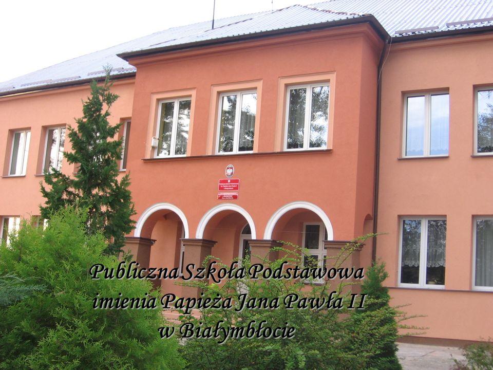 Publiczna Szkoła Podstawowa imienia Papieża Jana Pawła II w Białymbłocie