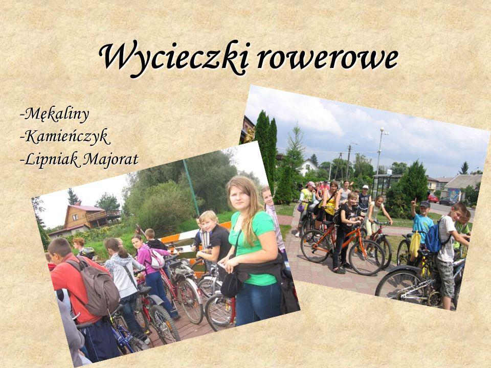 Wycieczki rowerowe -Mękaliny-Kamieńczyk -Lipniak Majorat