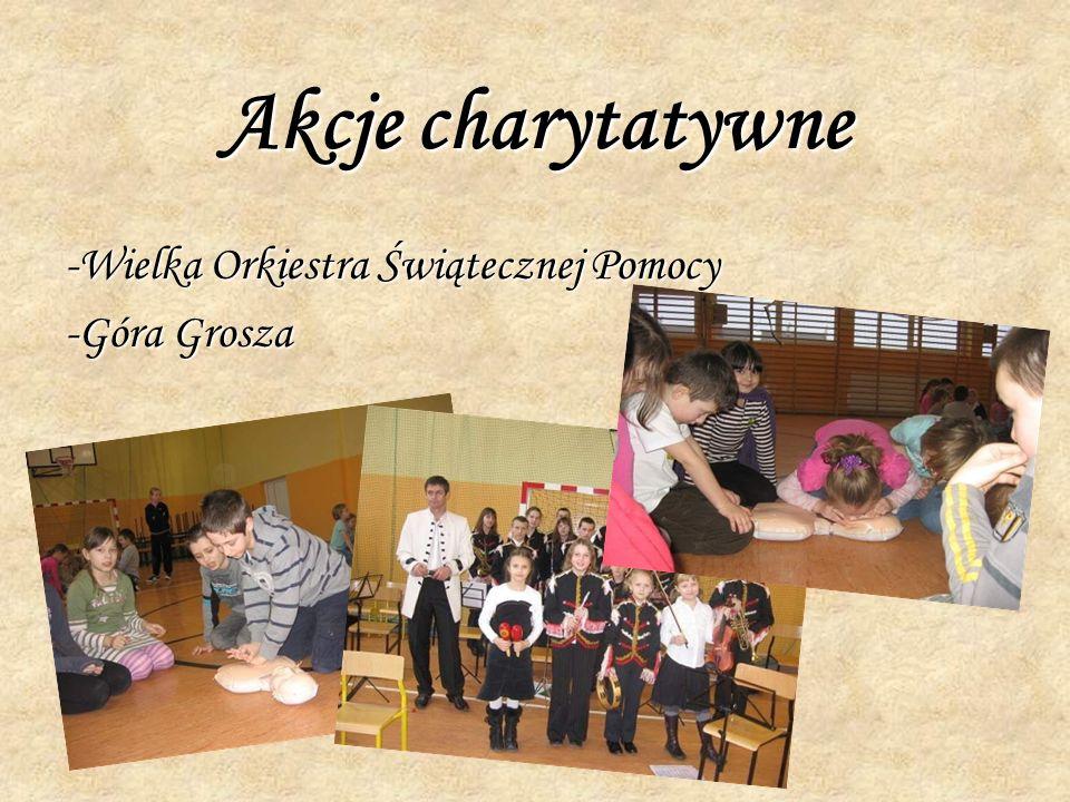 Akcje charytatywne -Wielka Orkiestra Świątecznej Pomocy -Góra Grosza