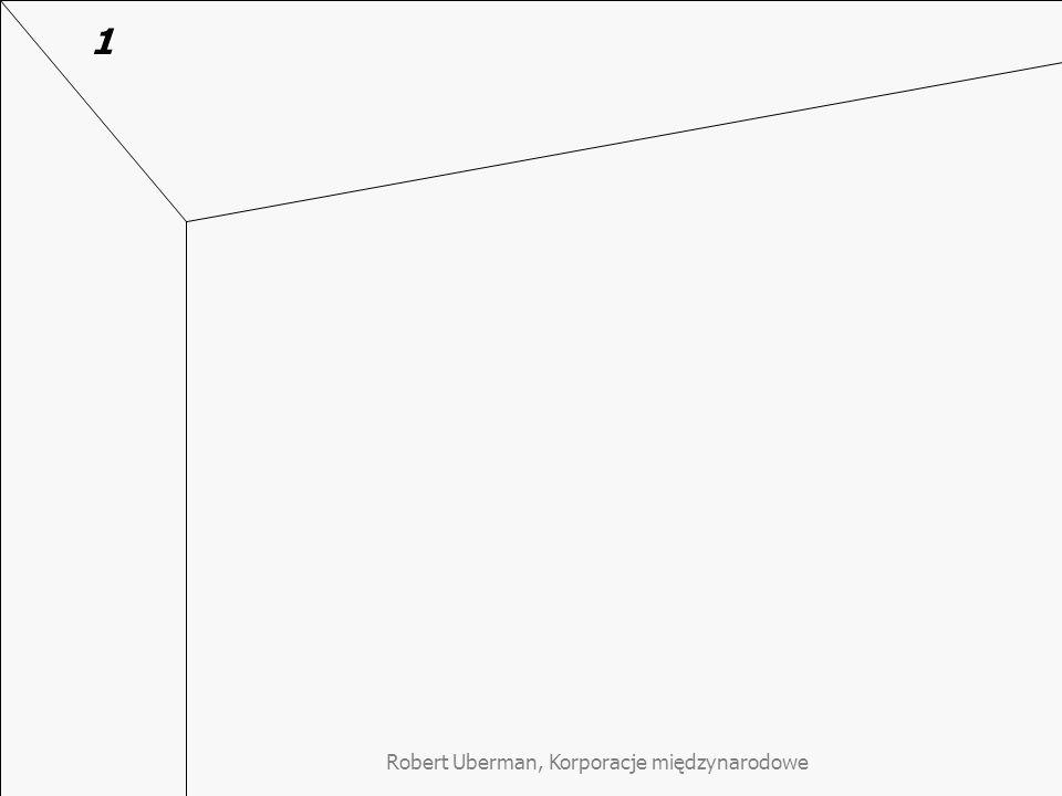 Robert Uberman, Korporacje międzynarodowe 1