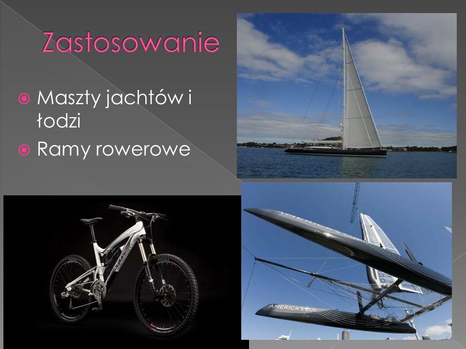 Maszty jachtów i łodzi Ramy rowerowe