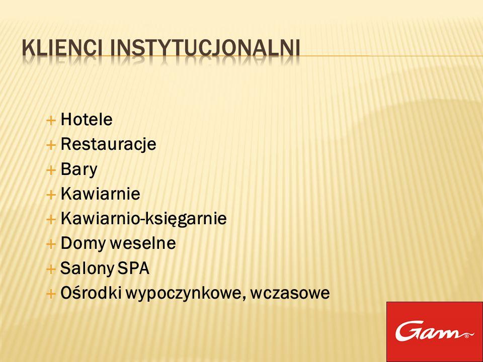 Hotele Restauracje Bary Kawiarnie Kawiarnio-księgarnie Domy weselne Salony SPA Ośrodki wypoczynkowe, wczasowe