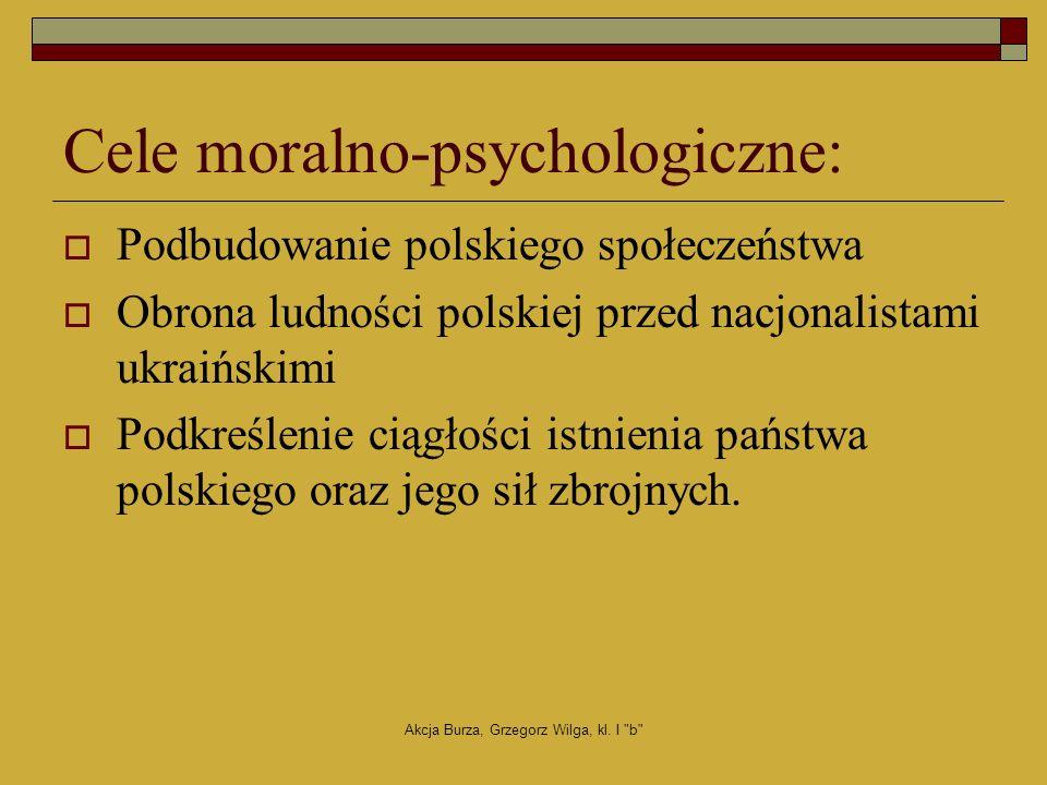 Akcja Burza, Grzegorz Wilga, kl. I