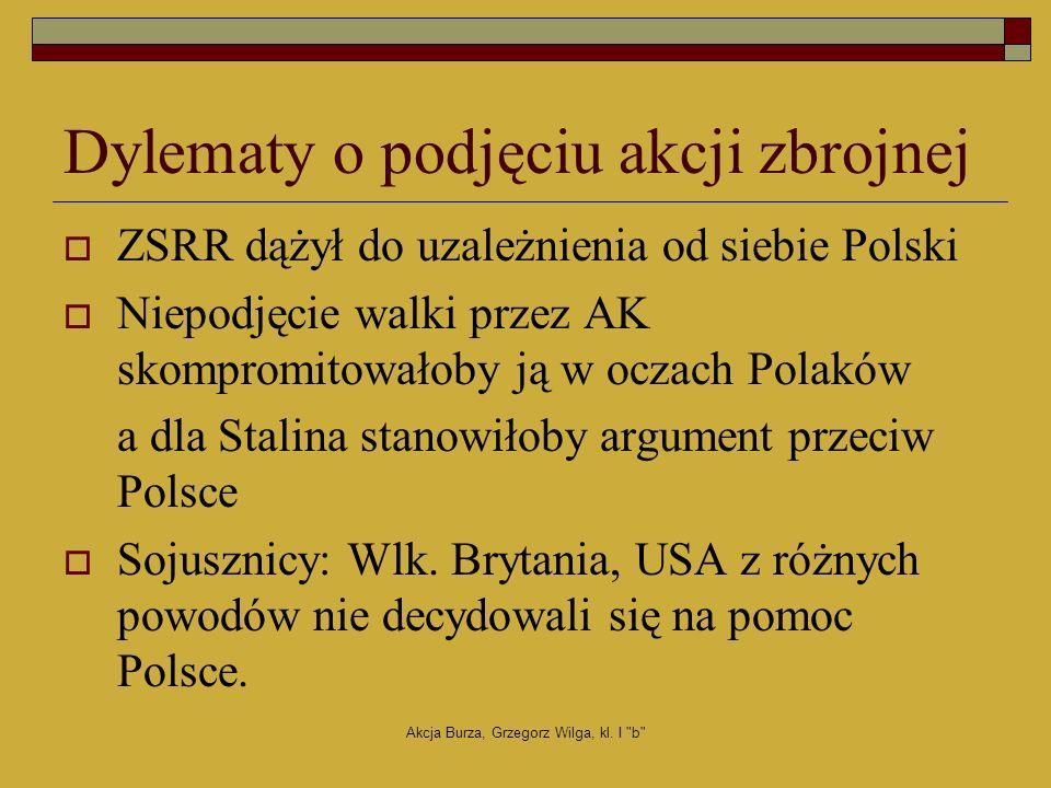 Akcja Burza, Grzegorz Wilga, kl.I b Burza we Lwowie 3 tys.