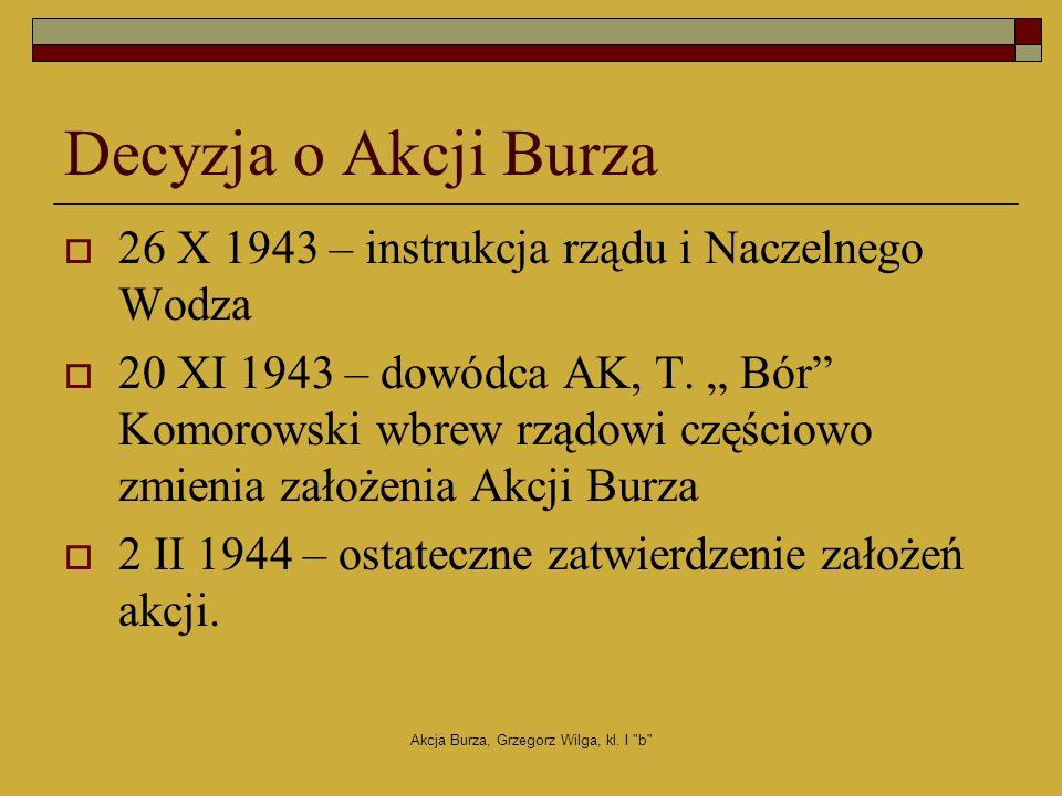 Akcja Burza, Grzegorz Wilga, kl.