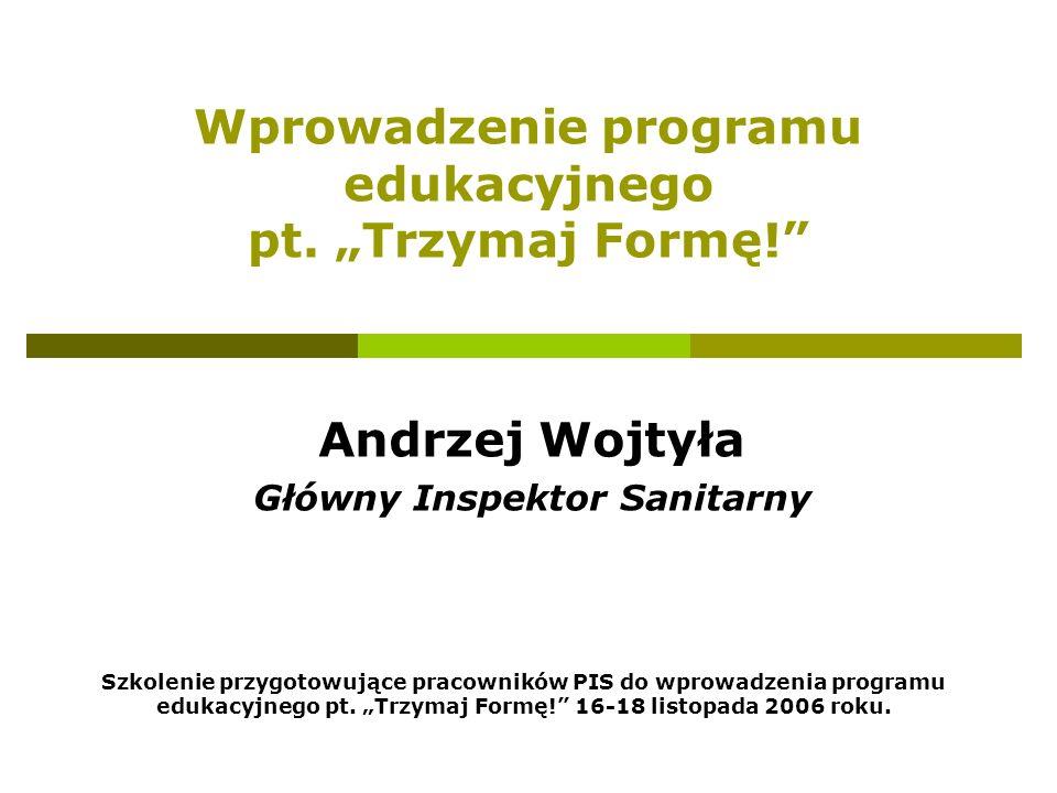 Szkolenie przygotowujące pracowników PIS do wprowadzenia programu edukacyjnego pt.