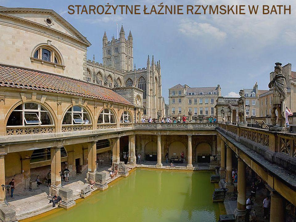 Starożytne łaźnie rzymskie w Bath STAROŻYTNE ŁAŹNIE RZYMSKIE W BATH