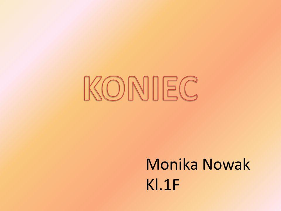 Monika Nowak Kl.1F