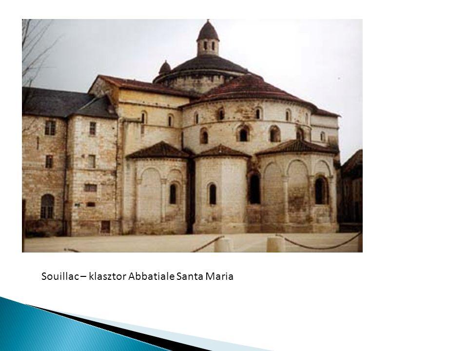 Souillac – klasztor Abbatiale Santa Maria