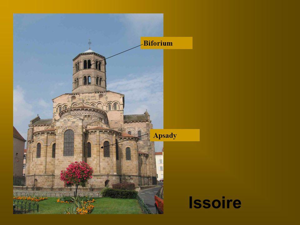 Biforium Apsady Issoire