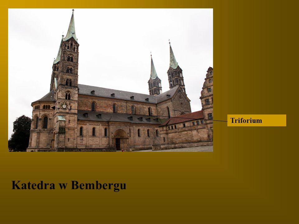 Katedra w Bembergu Triforium