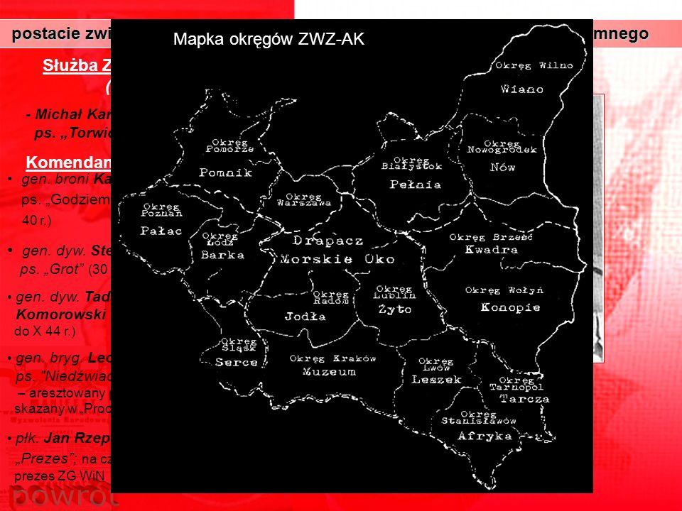 postacie związane ze strukturami militarnymi polskiego państwa podziemnego postacie związane ze strukturami militarnymi polskiego państwa podziemnego