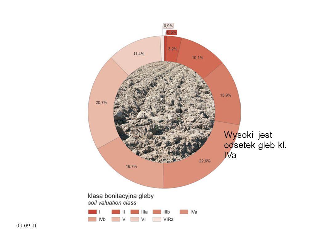 09.09.11 Wysoki jest odsetek gleb kl. IVa