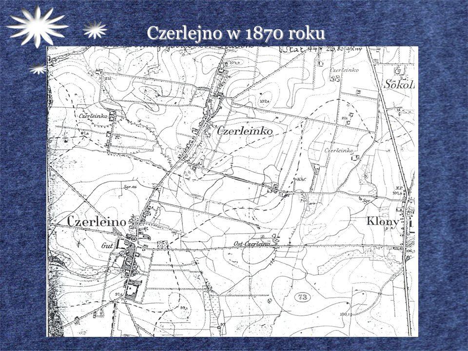 Czerlejno w 1870 roku