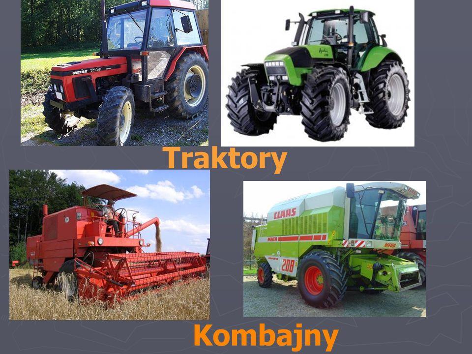 Traktory Kombajny