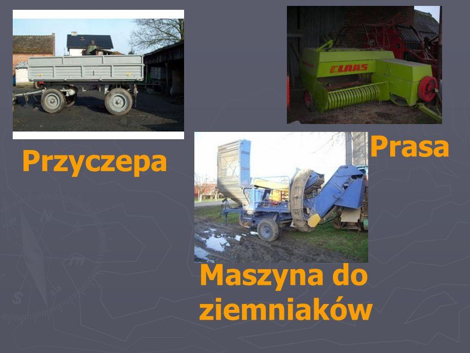 Przyczepa Maszyna do ziemniaków Prasa
