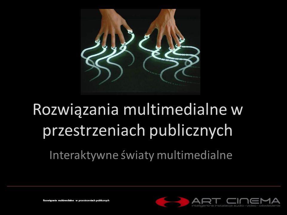 Ekrany dotykowe Digital Signage Rozwiązania Specjalne Rozwiązania multimedialne w przestrzeniach publicznych