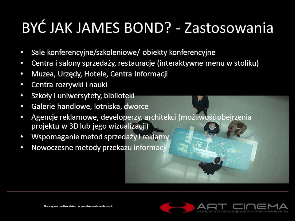 BYĆ JAK JAMES BOND.