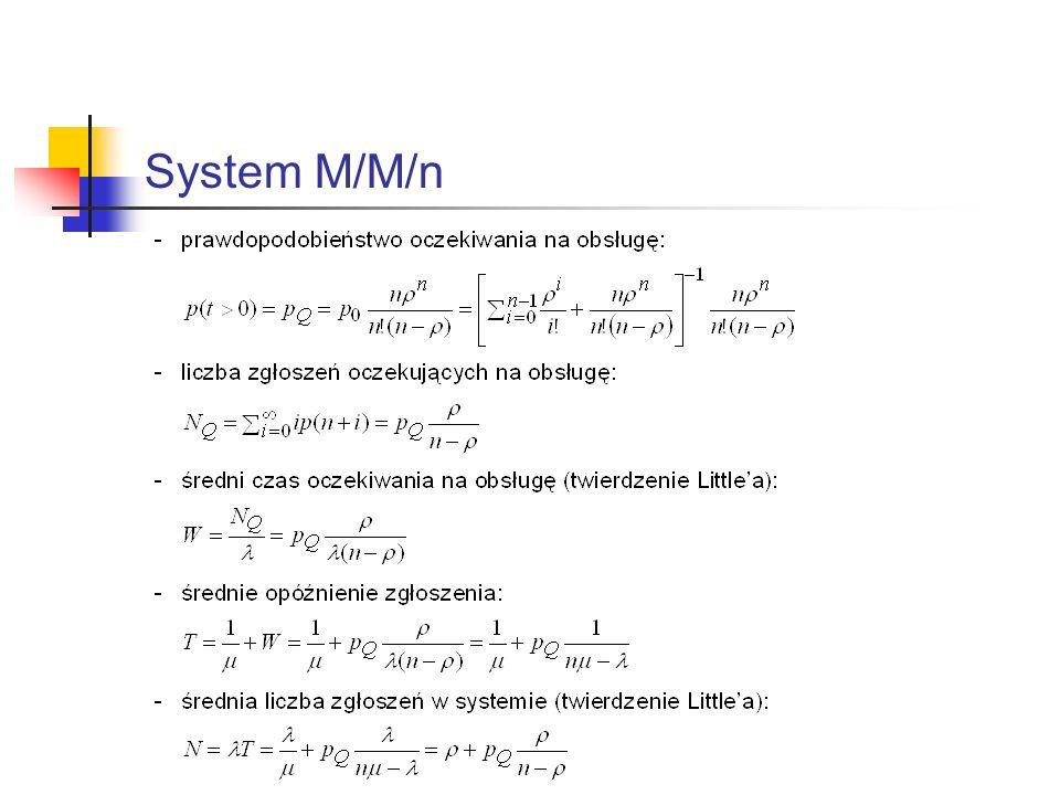 System M/M/n
