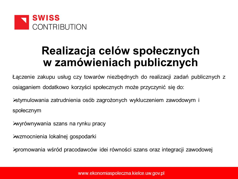 6 Łączenie zakupu usług czy towarów niezbędnych do realizacji zadań publicznych z osiąganiem dodatkowo korzyści społecznych może przyczynić się do: st