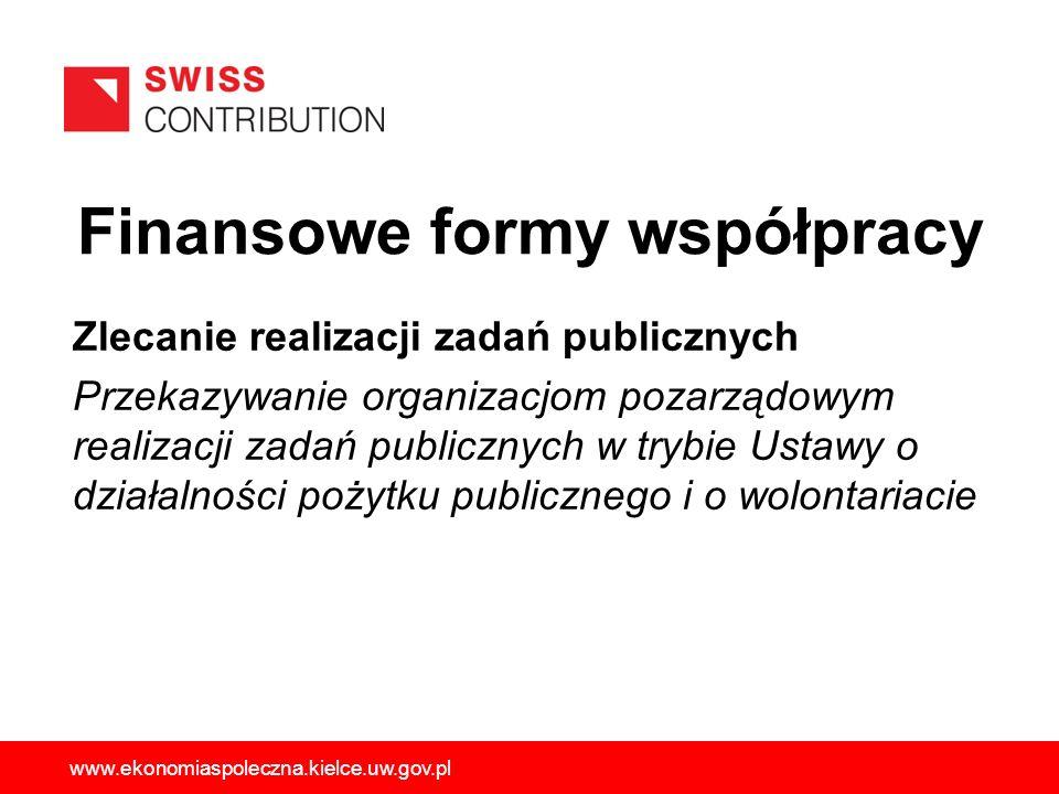 Zlecanie realizacji zadań publicznych Przekazywanie organizacjom pozarządowym realizacji zadań publicznych w trybie Ustawy o działalności pożytku publ