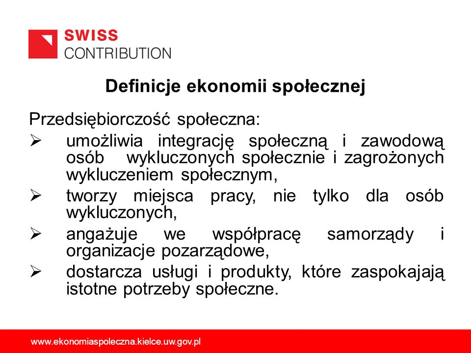 Prawne formy współpracy JST z PES Spółki z o.o.i spółki akcyjne działające w celach społecznych.
