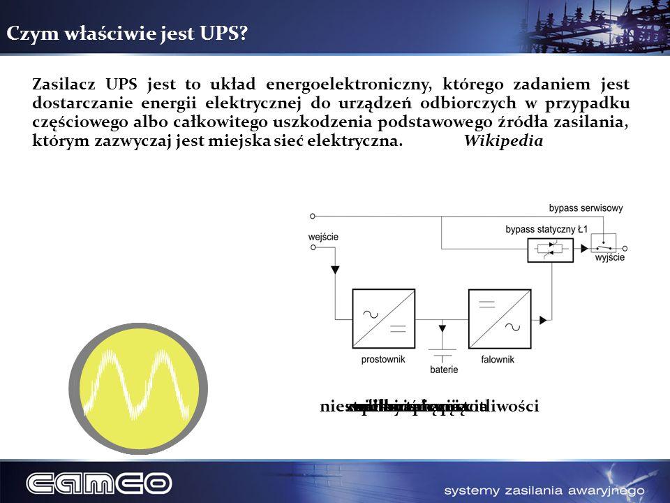 Czym właściwie jest UPS? Zasilacz UPS jest to układ energoelektroniczny, którego zadaniem jest dostarczanie energii elektrycznej do urządzeń odbiorczy