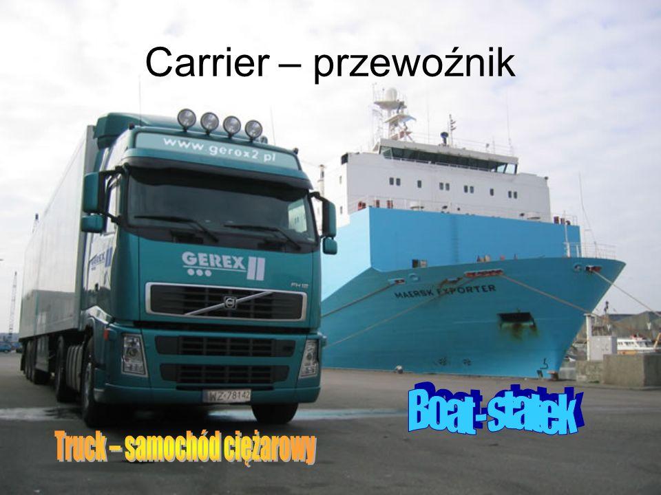 Carrier – przewoźnik