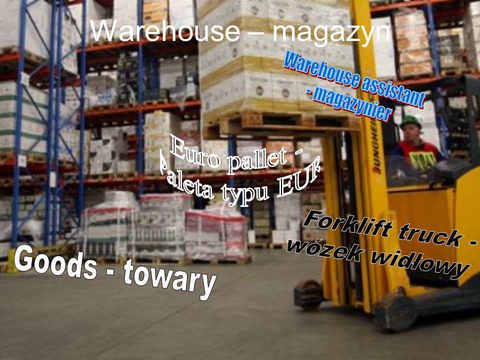 Warehouse – magazyn