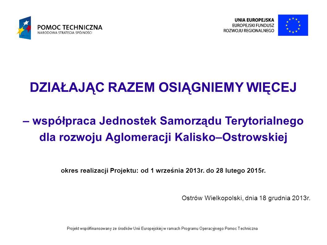 12 Dziękuję za uwagę Monika Otrębska – Juszczak Koordynator Projektu – Lider Biuro projektu: ul.