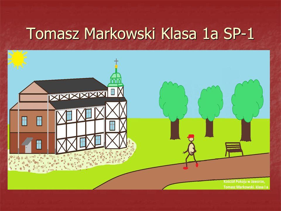 Tomasz Markowski Klasa 1a SP-1