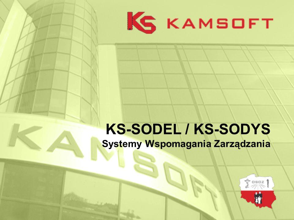 KS-SODEL / KS-SODYS, System Obsługi Dystrybucji Plan prezentacji 1.Kilka słów o firmie Kamsoft 2.Wstępna charakterystyka prezentowanego Systemu Informatycznego 3.Prezentacja działania systemu 4.Pytania o odpowiedzi