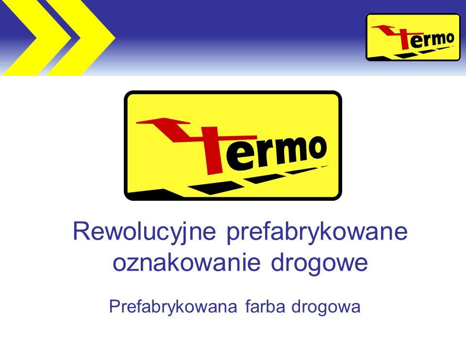 Rewolucyjne prefabrykowane oznakowanie drogowe Prefabrykowana farba drogowa