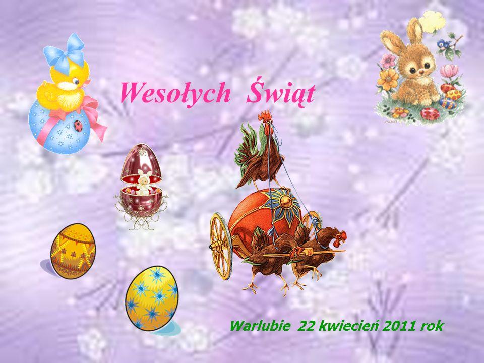 Ciepłych, pogodnych i radosnych Świąt Zmartwychwstania Pańskiego życzą Pracownicy Gminnego Ośrodka Kultury Promocji i Rekreacji w Warlubiu