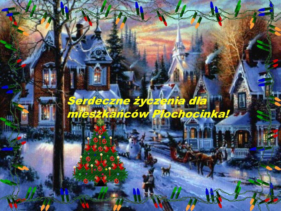MERRY CHRISTMAS Serdeczne życzenia dla mieszkańców Płochocina!