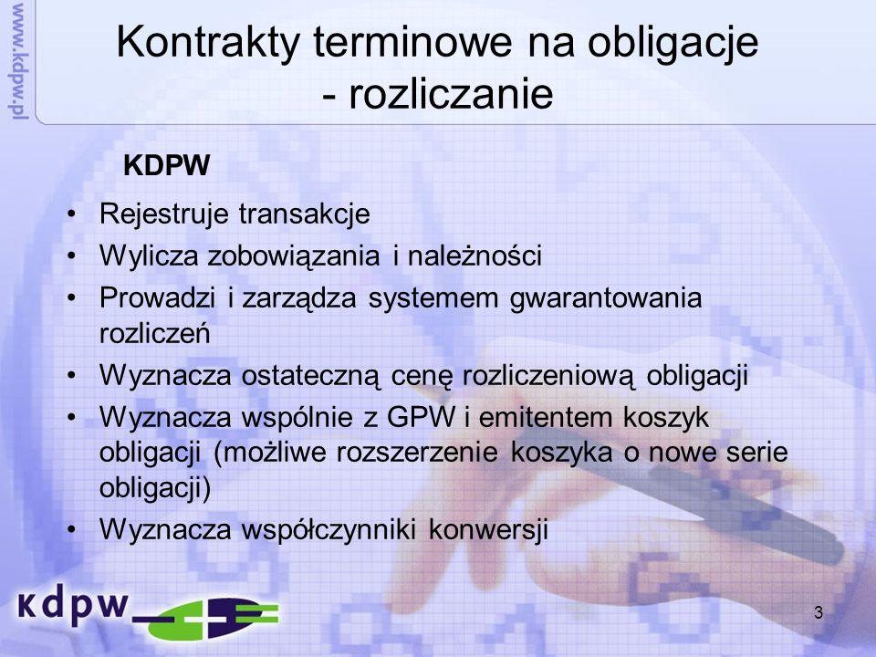 14 Fundusz rozliczeniowy Wpłata uczestnika obliczana na podstawie generowanego ryzyka (WDZ, K-S) Wpłata minimalna 70 tys.