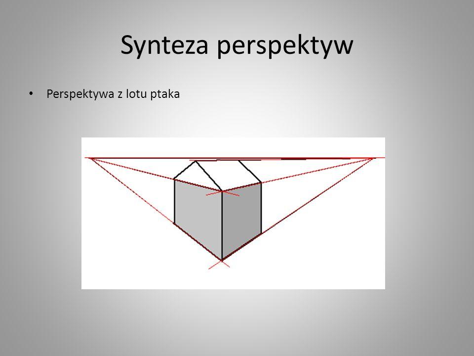 Synteza perspektyw Perspektywa z lotu ptaka