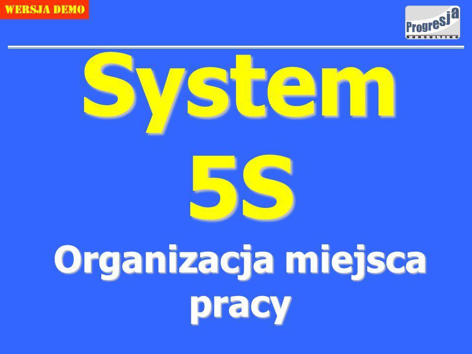 Copyright Progresja Konsulting 1 Wersja demo System 5S Organizacja miejsca pracy