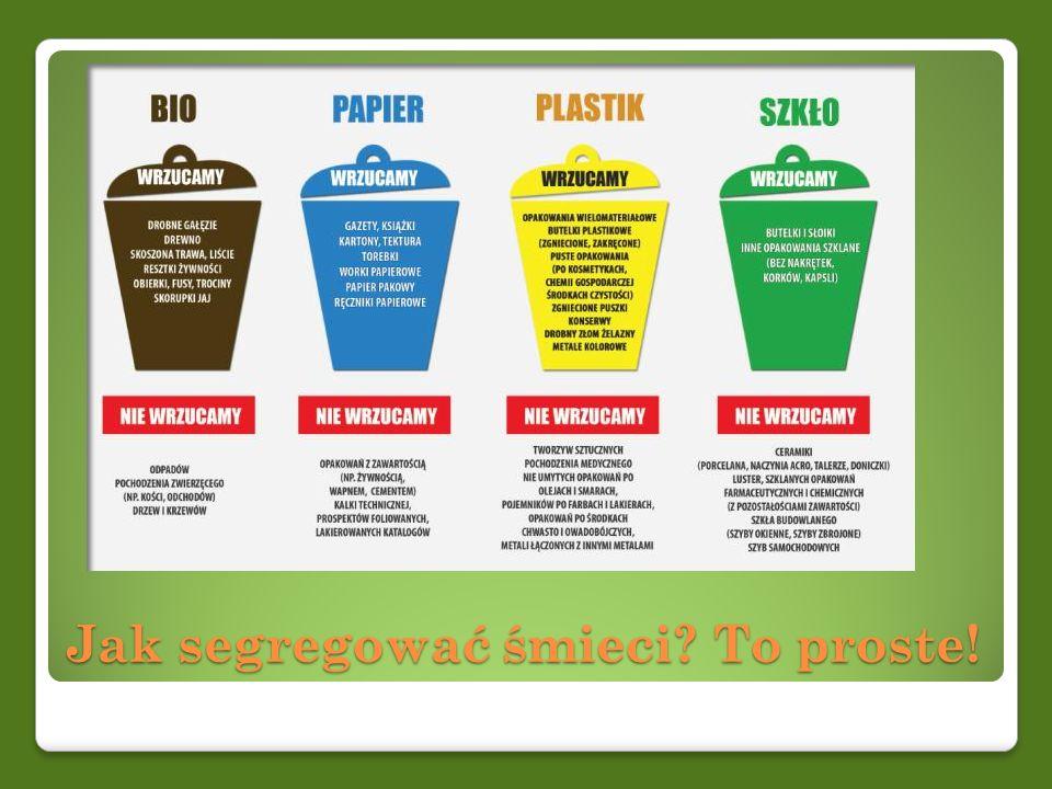 Jak segregować śmieci? To proste!