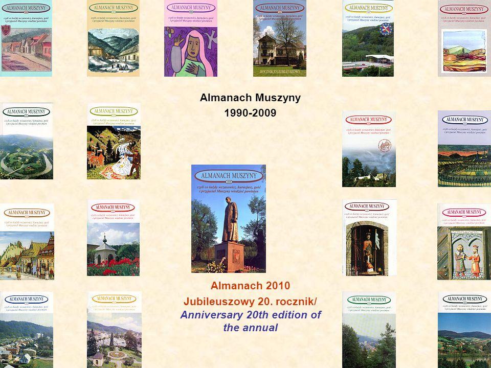 Almanach Muszyny 1990-2009 Almanach 2010 Jubileuszowy 20.