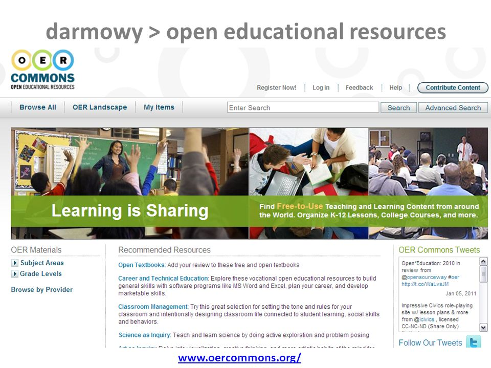 darmowy > open educational resources www.oercommons.org/