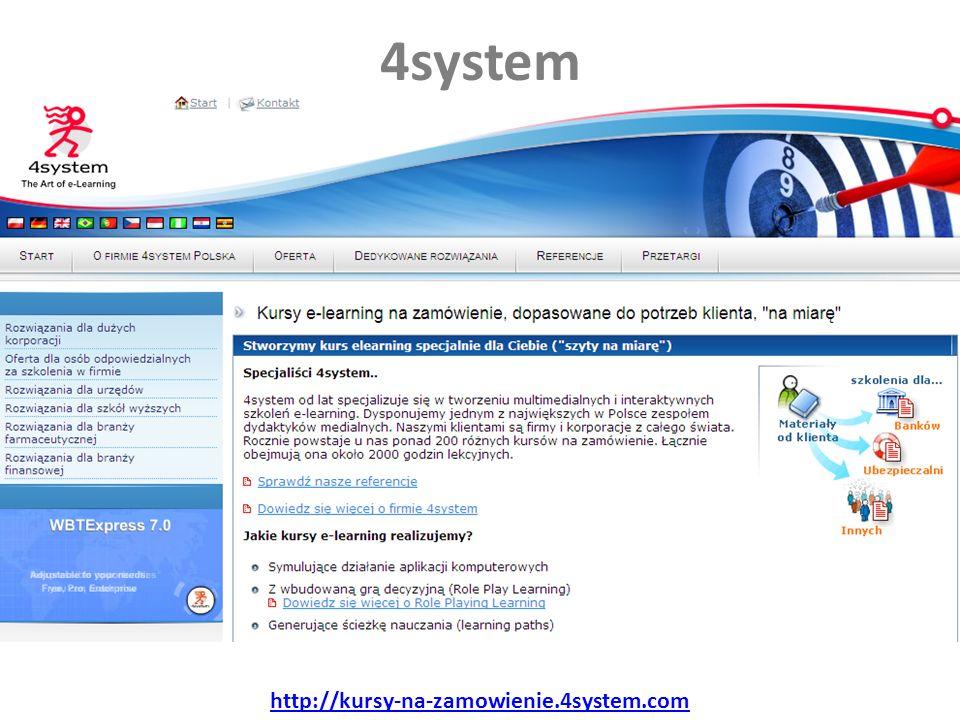4system http://kursy-na-zamowienie.4system.com