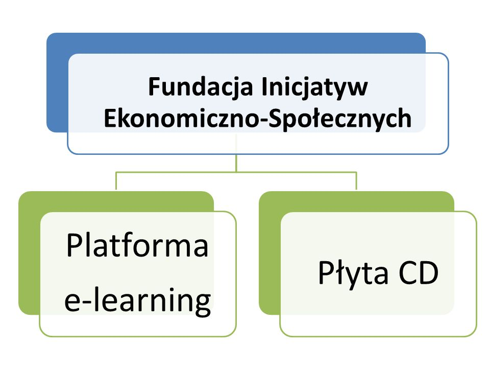 Platforma e-learning Płyta CD